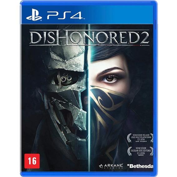 Dishonored 2 Mídia Física Lacrado - Ps4