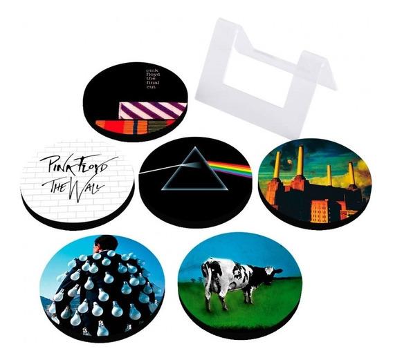 Porta Copos Em Mdf Pink Floyd Albums Artgeek