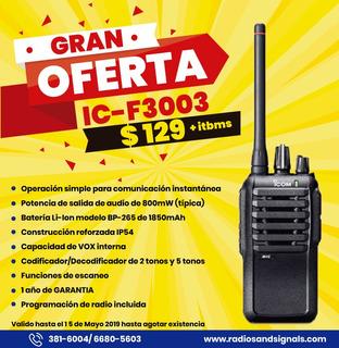 Gran Oferta - Radio Ic-f3003 Análogo