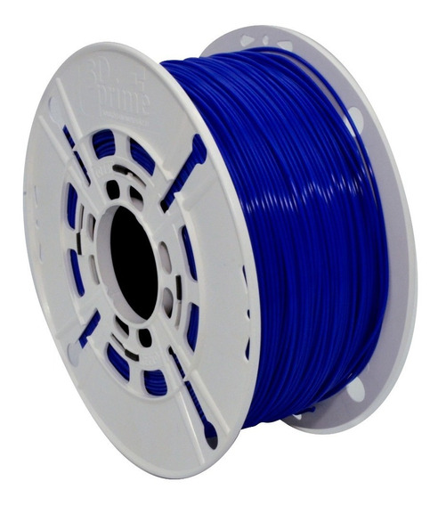 Filamento 3d Prime Pla Azul 1,75mm 500g