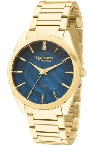 Relógio Technos Feminino Elegance St Moritz 2036lou/4a