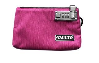 Vaultz Vz00473 Bolsa Con Cierre Candado 5 X 8 Pulgadas Rosad