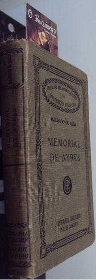 Memorial De Ayres - Machado De Assis - Garnier - 1923