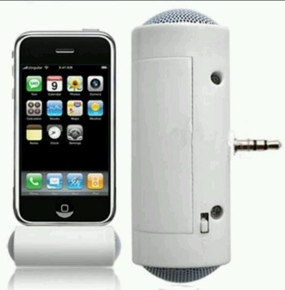 Caixa De Som Stereo Para iPhone, Galxy, Sony E Nokia