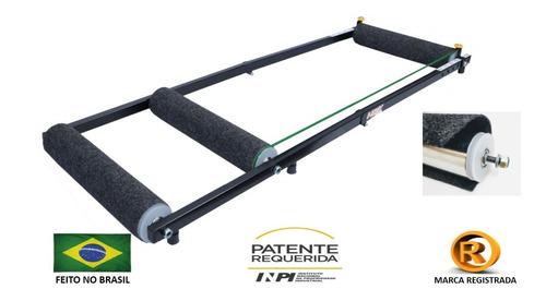 Imagem 1 de 8 de Rolo Treino Bike Triplo Equilibrio -  Premium