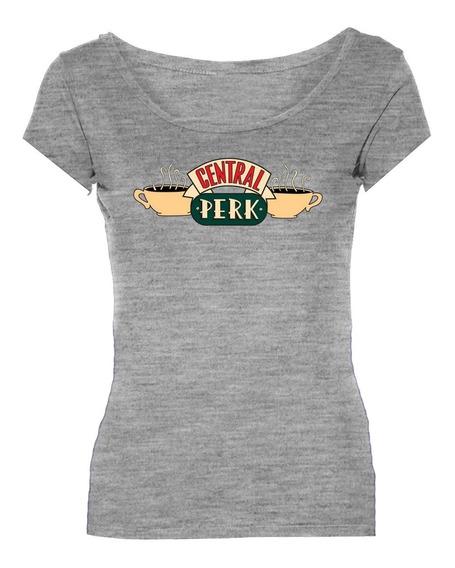 Remeras Friends Central Perk Series Mujer *mr Korneforos*