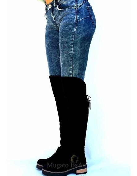 Bucaneras Gamuzadas Suela - La Diosa Shoes