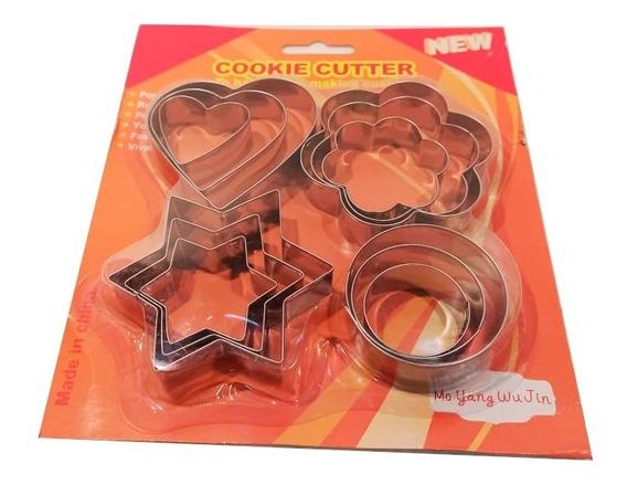 Set Moldes Cortantes X12 De Acero
