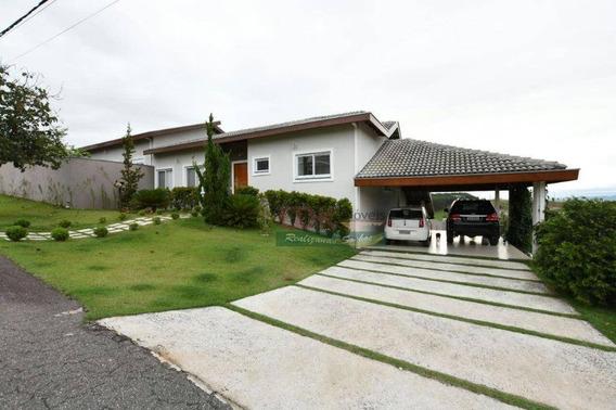 Casa Com 4 Dormitórios, 350 M² - Venda Por R$ 1.500.000,00 Ou Aluguel Por R$ 6.500,00/mês - Rio Comprido - Jacareí/sp - Ca3534