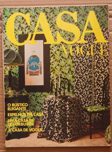 Revista Casa Vogue Nº 25-a Junho 1977