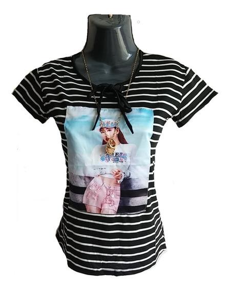 Blusas Dama Casual Importadas Talla Única Body Camisa Suéter