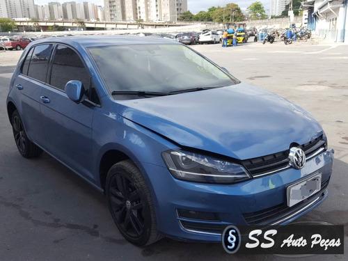 Sucata Volkswagen Golf 2014 - Somente Retirar Peças