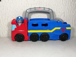 Playskool Friends Transformers Optimus Prime.