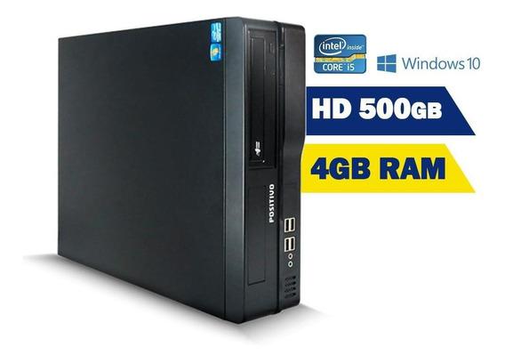 Cpu Desktop Positivo D570 Master Intel Core I5 4gb Ram