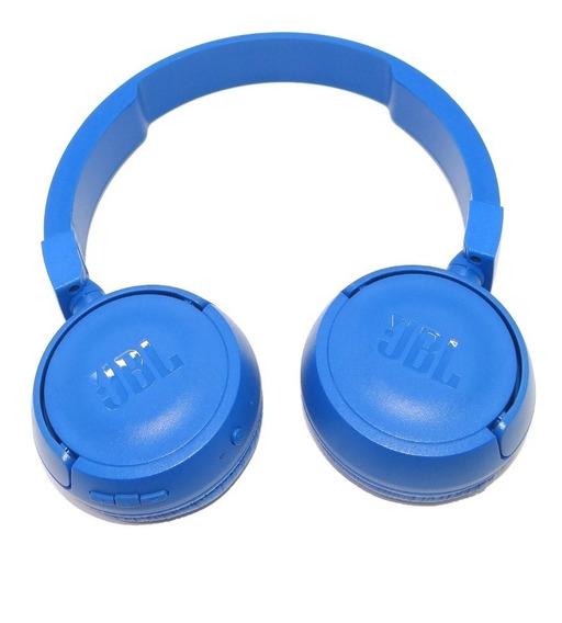 Fone De Ouvido Bluetooth Jbl T450bt Azul Original (vitrine)