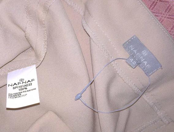 Pantalon Vestir Naf Naf - Greast Coast Talla 42 * E . R