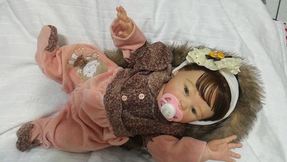 Bebê Reborn Carmela Corpo Inteiro - Promoção 599