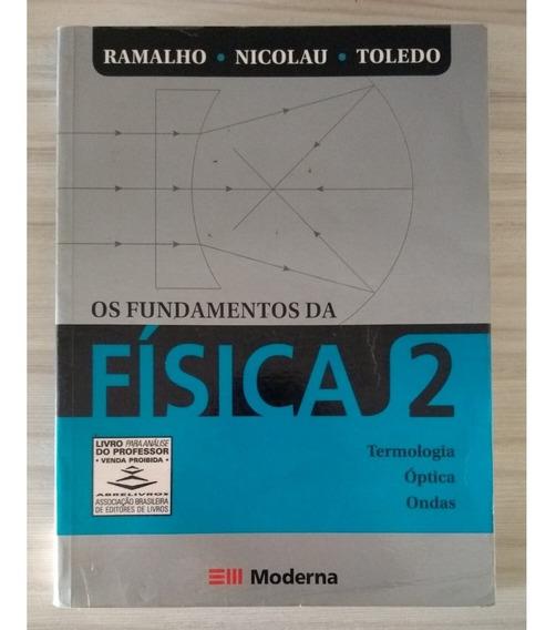 Livro Fundamentos Física Vol 2 - Ramalho Editora Moderna