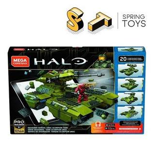 Mega Construx Halo Designer Series Unsc Scorpion Tank Ggg61