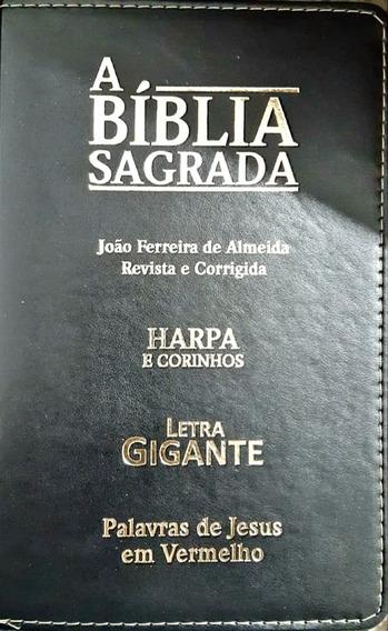 Livro - A Bíblia Sagrada - Harpas E Corinho Letras Grandes