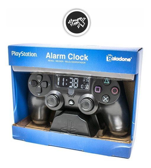 Playstation Control Reloj Despertador Digital Usb Paladone