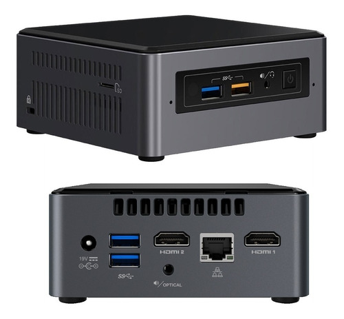 Mini Pc Intel Nuc Nuc7cjyh Celeron J4005 Vesa Wifi  Hdmi