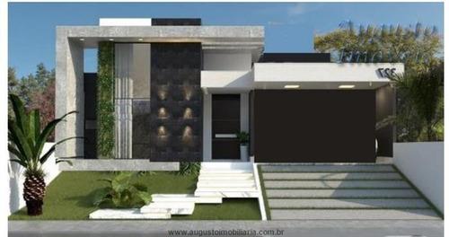 Imagem 1 de 2 de Linda Casa Térrea A Venda Em Condomínio/ Atibaia