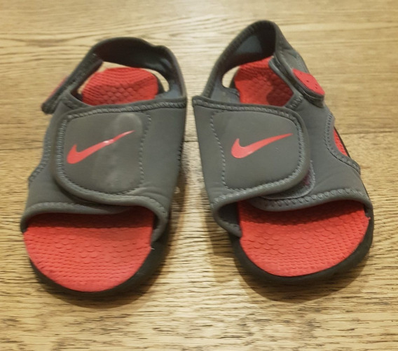 Sandalia, Nike, Niños, Talle C19.
