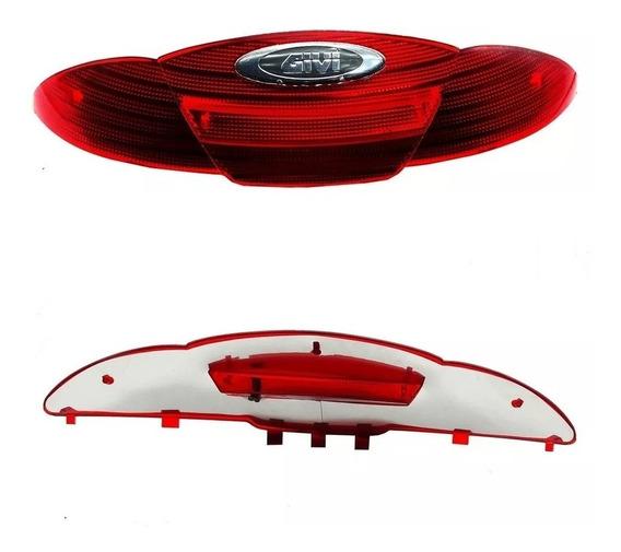 Lente Original Refletora Bau Bauleto Givi E450 45l Vermelha