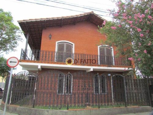 Sobrado Com 4 Dormitórios À Venda, 200 M² Por R$ 650.000 - Vila São João - Guarulhos/sp - So0691