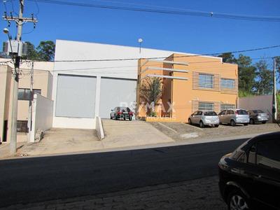 Galpão Para Alugar, 748 M² Por R$ 13.500/mês - Condominio Portal Do Anhanguera - Valinhos/sp - Ga0510 - Ga0510