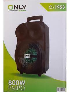 Parlante Portatil Bluetooth Karaoke + Micrófono 800w O-1953