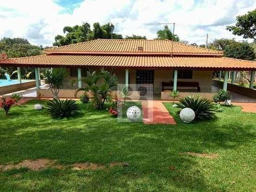 Imagem 1 de 20 de Chácara Residencial À Venda, Zona Rural, Cássia Dos Coqueiros. - Ch0007