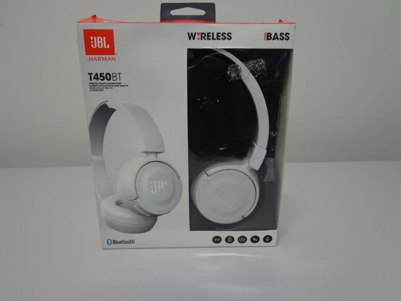 Fone De Ouvido Jbl T450 Bt Branco - Bluetooth