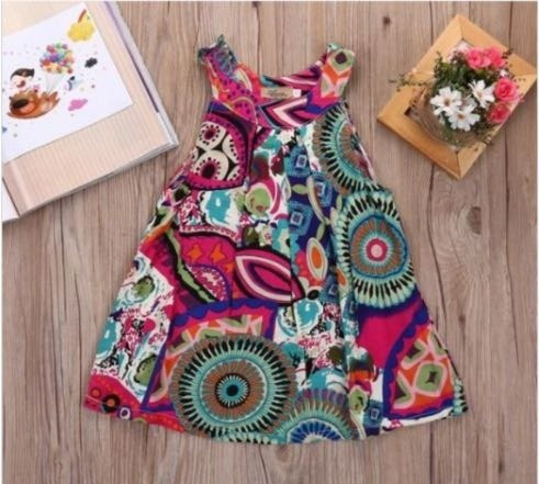 Vestido Infantil Estampado Infantil