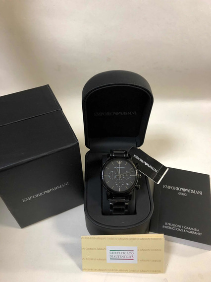 Relógio Emporio Armani Ar1737 Com Caixa E Garantia