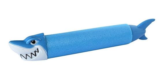 Pistola De Água Tubarão Brinquedo Verão Piscina