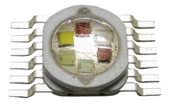 Kit 40 Diodos Led 18w Bgrwuva Hexaled Mr1330