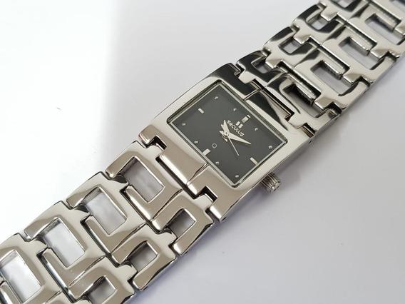Relógio Feminino Seculus Q 16612763mssb Swiss Made