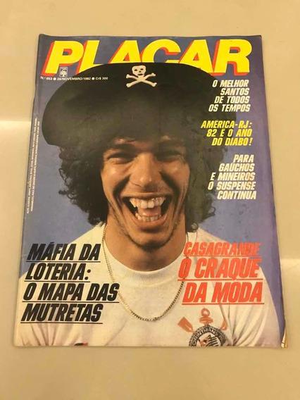 Revista Placar 653 Santos Corinthians Inter Rio Branco 1982