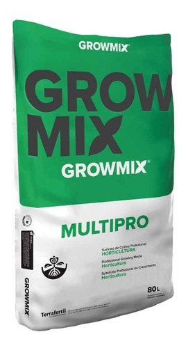 Sustrato Profesional Growmix Multipro 80 L Indoor