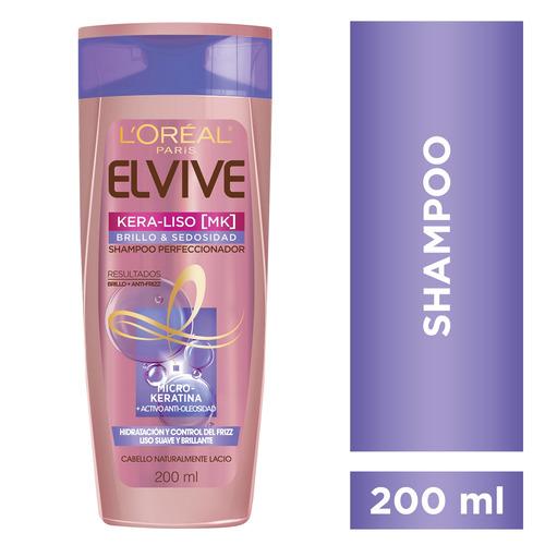 Shampoo Kera Liso Brillo Sedosidad X200 Elvive Loreal Paris