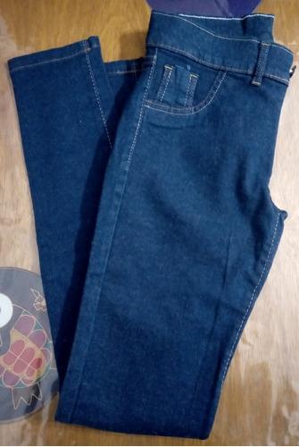Jeans  Elastizados Damas Pantalón Chupin Rebajado