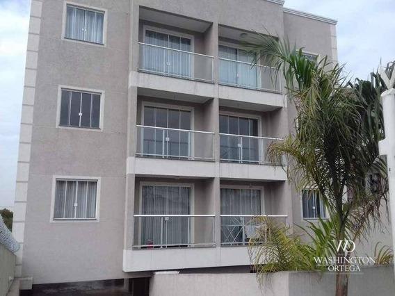 Apartamento Com 2 Dormitórios À Venda, 52 M² Por R$ 180.000,00 - Boneca Do Iguaçu - São José Dos Pinhais/pr - Ap0568