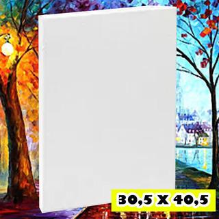 Bastidor Lienzo 30,5 X 40,5 Listo Para Pintar