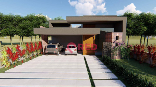 Casa Com 3 Dormitórios À Venda, 229 M² Por R$ 1.850.000,00 - Alphaville Nova Esplanada - Votorantim/sp - Ca0364