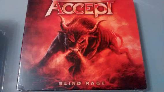Accept Blind Rage Cd+dvd Usa Nuclearblast