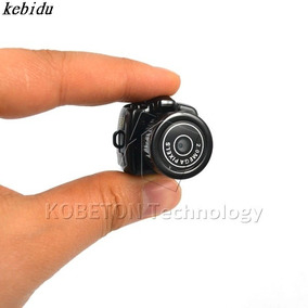 Mini Câmera Espiã Gravador De 480p