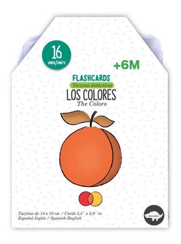 Flash Cards Los Colores - Kocodío