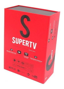 Case Super Tv Red Android Pronta Entrega